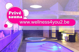 Sauna - Prive sauna wellness4you2 in Heers - Limburg