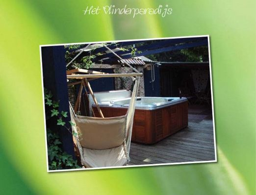 Sauna - Vlinderparadijs in Aarschot - Vlaams Brabant